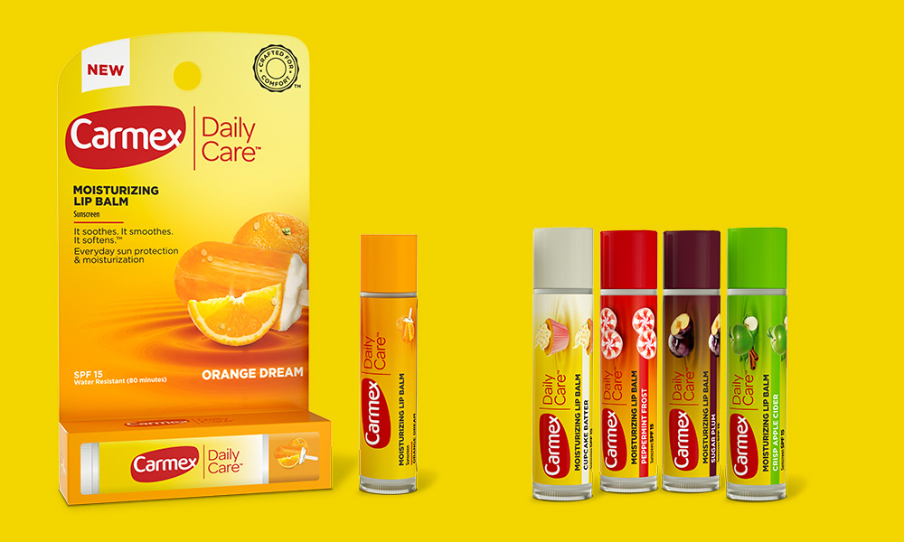New Logo and Packaging for Carmex by Anthem
