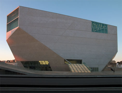Casa da Música, by Rem Koolhaas