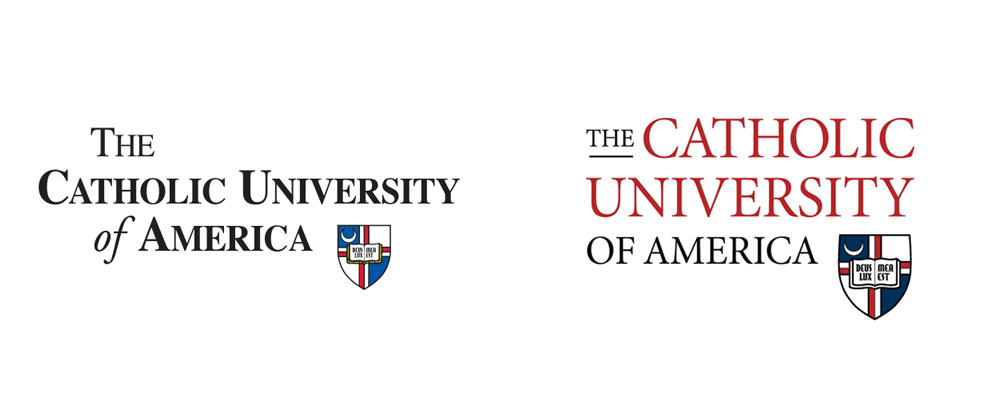 New Logo for The Catholic University of America by Elliance