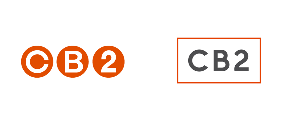 New Logo and Identity for CB2 by Mother