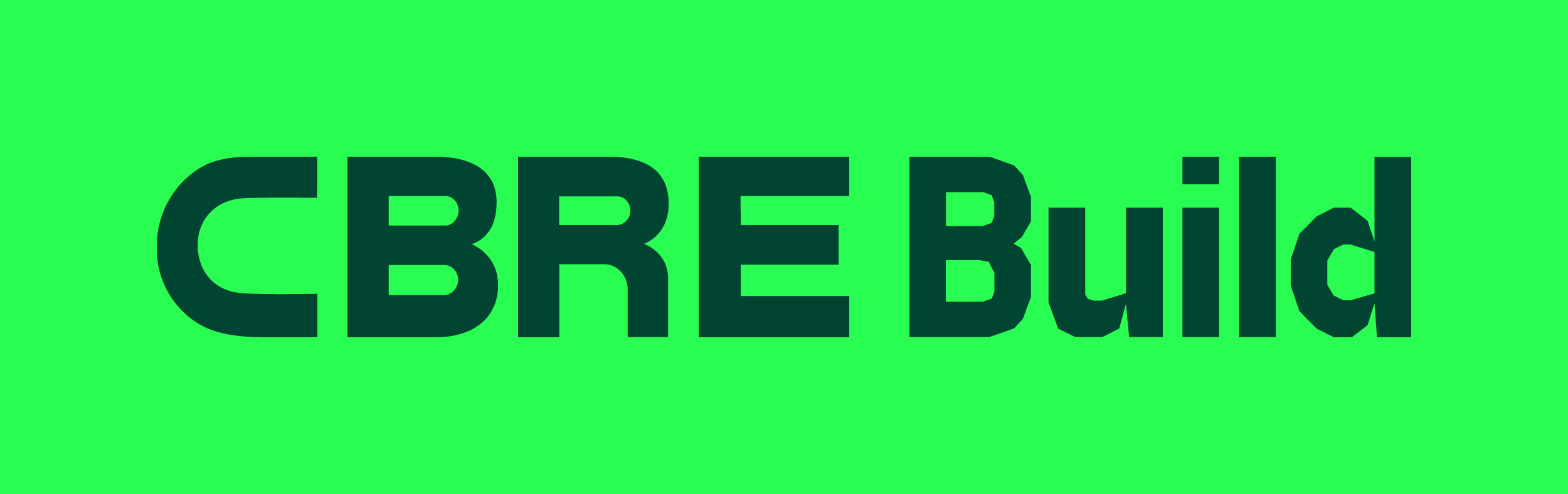 New Logo and Identity for CBRE Build done In-house