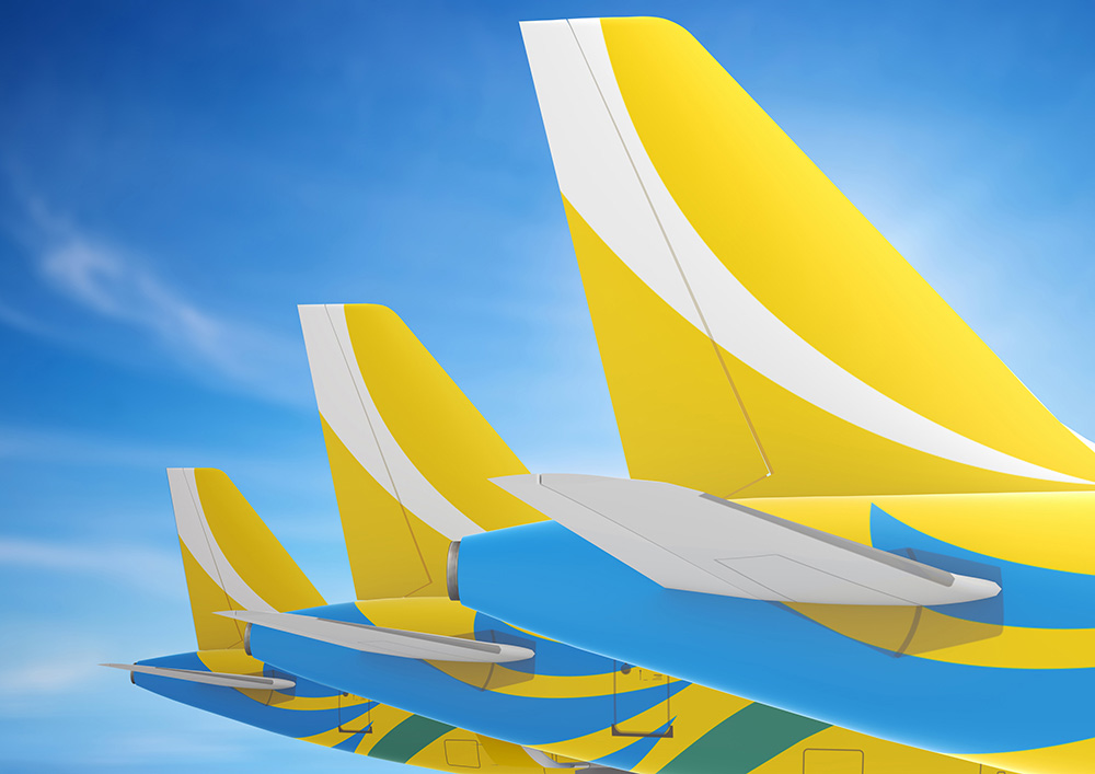brand new new logo identity and livery for cebu pacific