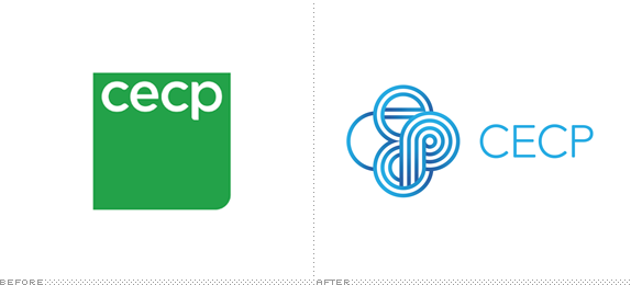 CECP Logo, Before and After
