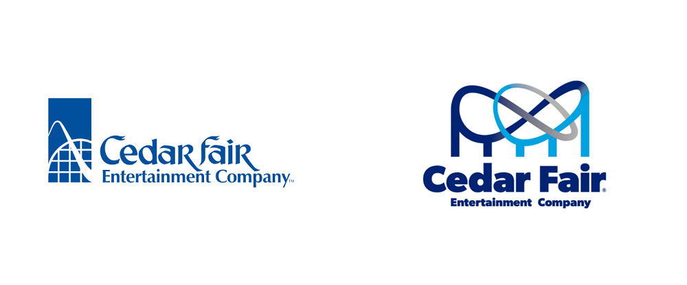 brand new  new logo for cedar fair