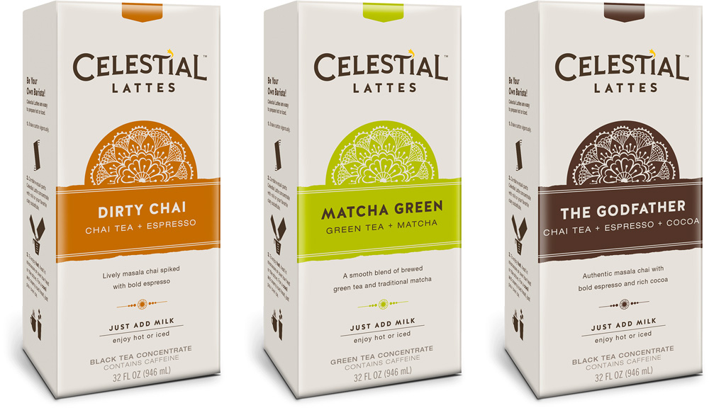 New Logo and Packaging for Celestial Seasonings by Tether