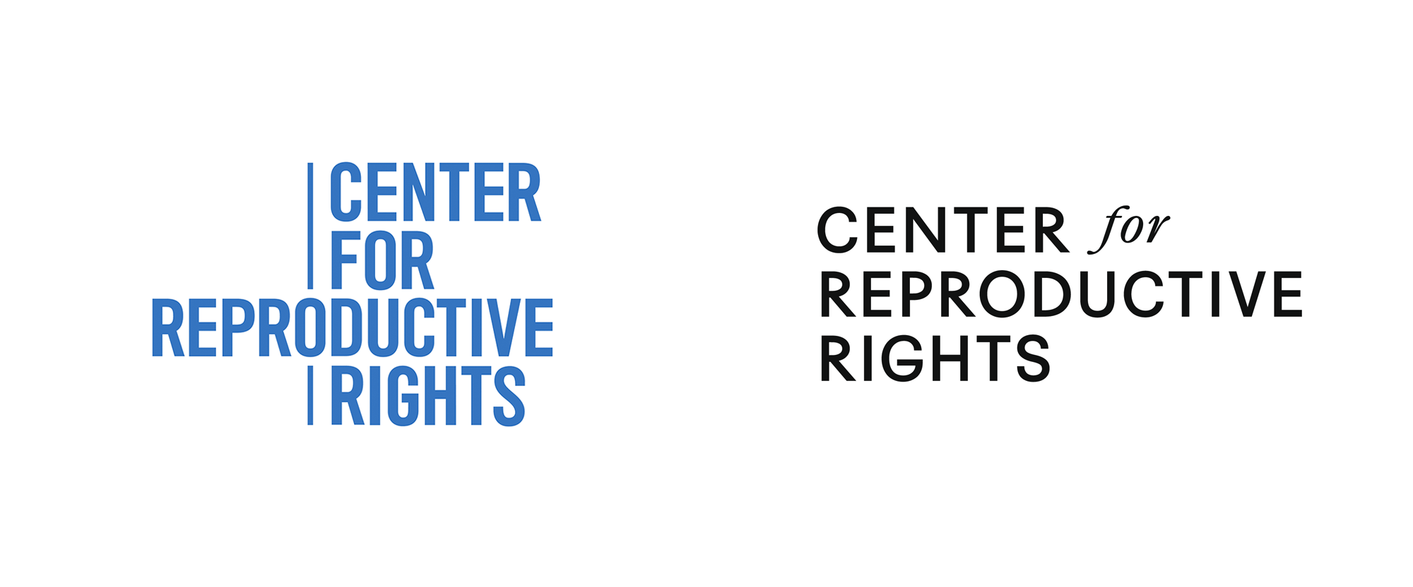 New Logo and Identity for Center for Reproductive Rights by Isometric