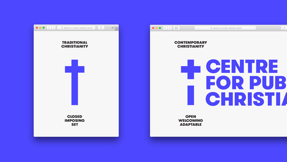 New Logo and Identity for Centre for Public Christianity by For the People