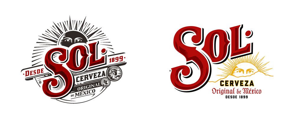 New Logo, Identity, and Packaging for Cerveza Sol by Soulsight