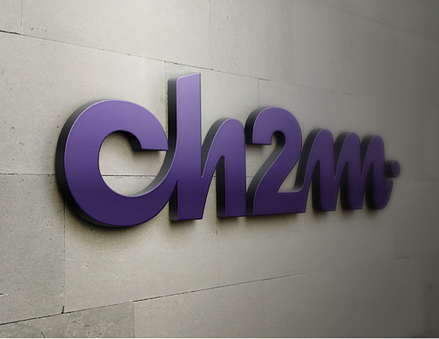 New Logo for CH2M by FutureBrand
