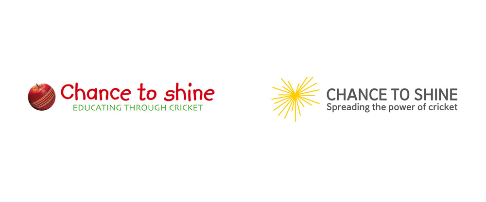 New Logo and Identity for Chance to Shine by Article