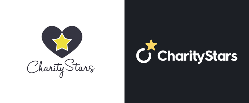 New Logo for Charity Stars by rolostudio