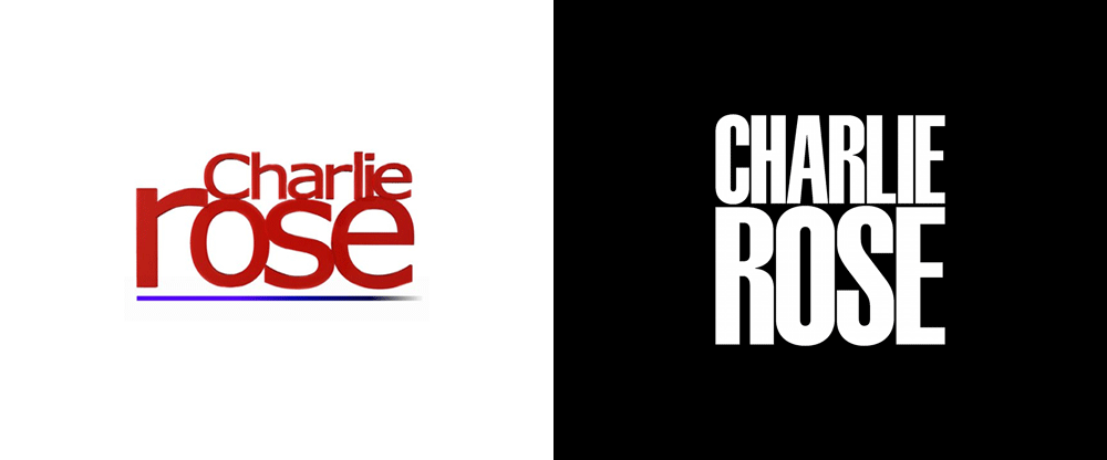 Brand New New Logo And Identity For Charlie Rose By Pentagram