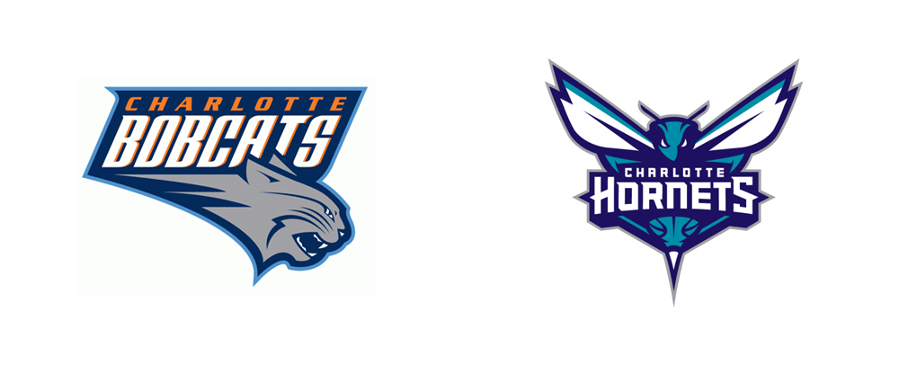 New Name, Logo, and Identity for the Charlotte Hornets