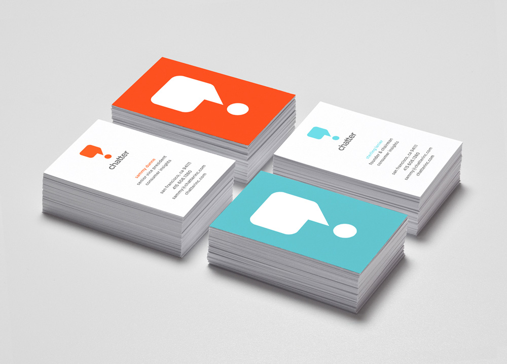 New Logo and Identity for Chatter by Brick Design