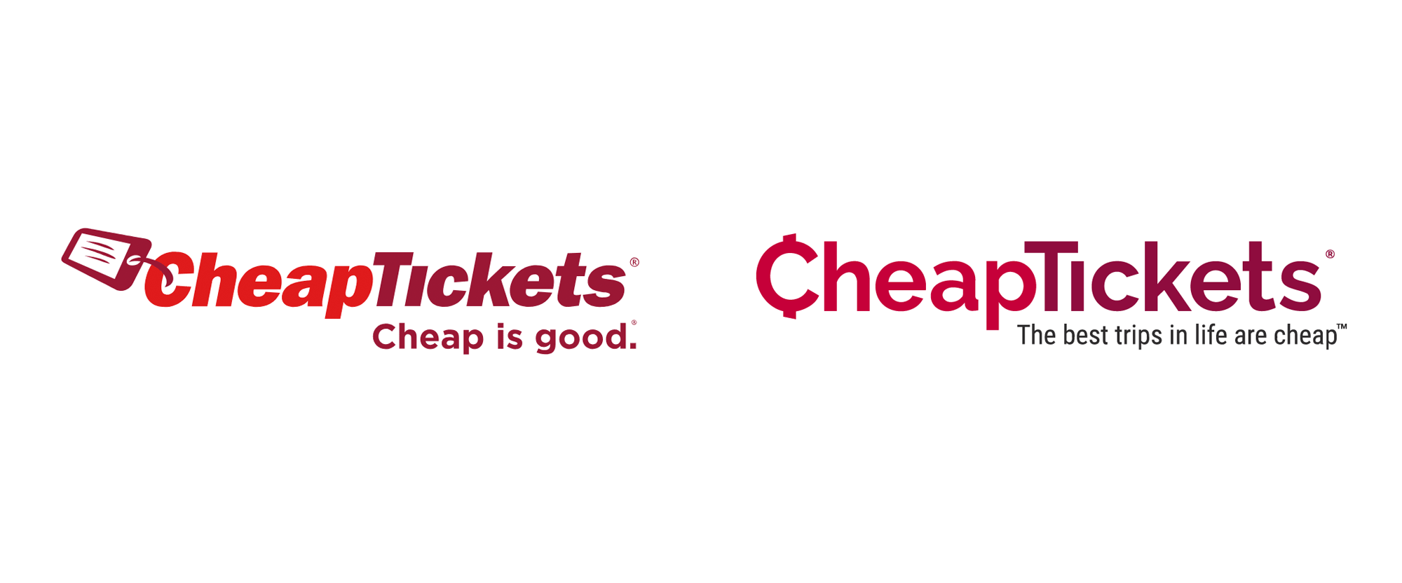 New Logo for CheapTickets