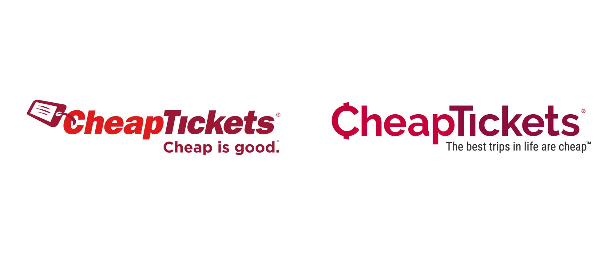New Logo for CheapTickets