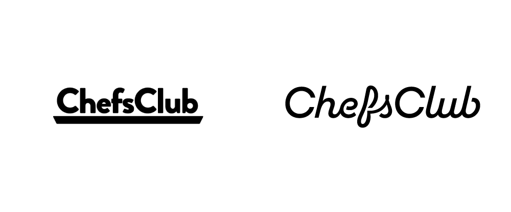 New Logo and Identity for ChefsClub by Plau