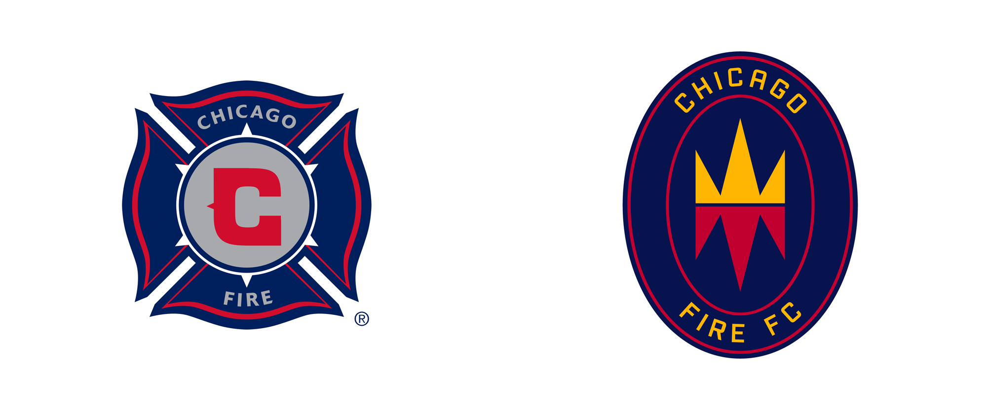 New Logo for Chicago Fire FC by Doubleday & Cartwright