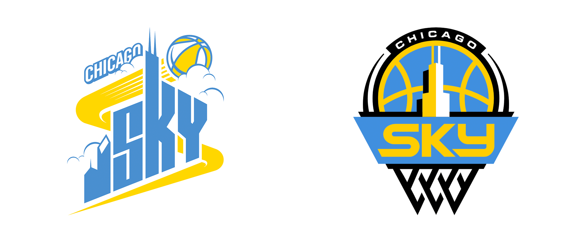 New Logo for Chicago Sky by David Day Associates