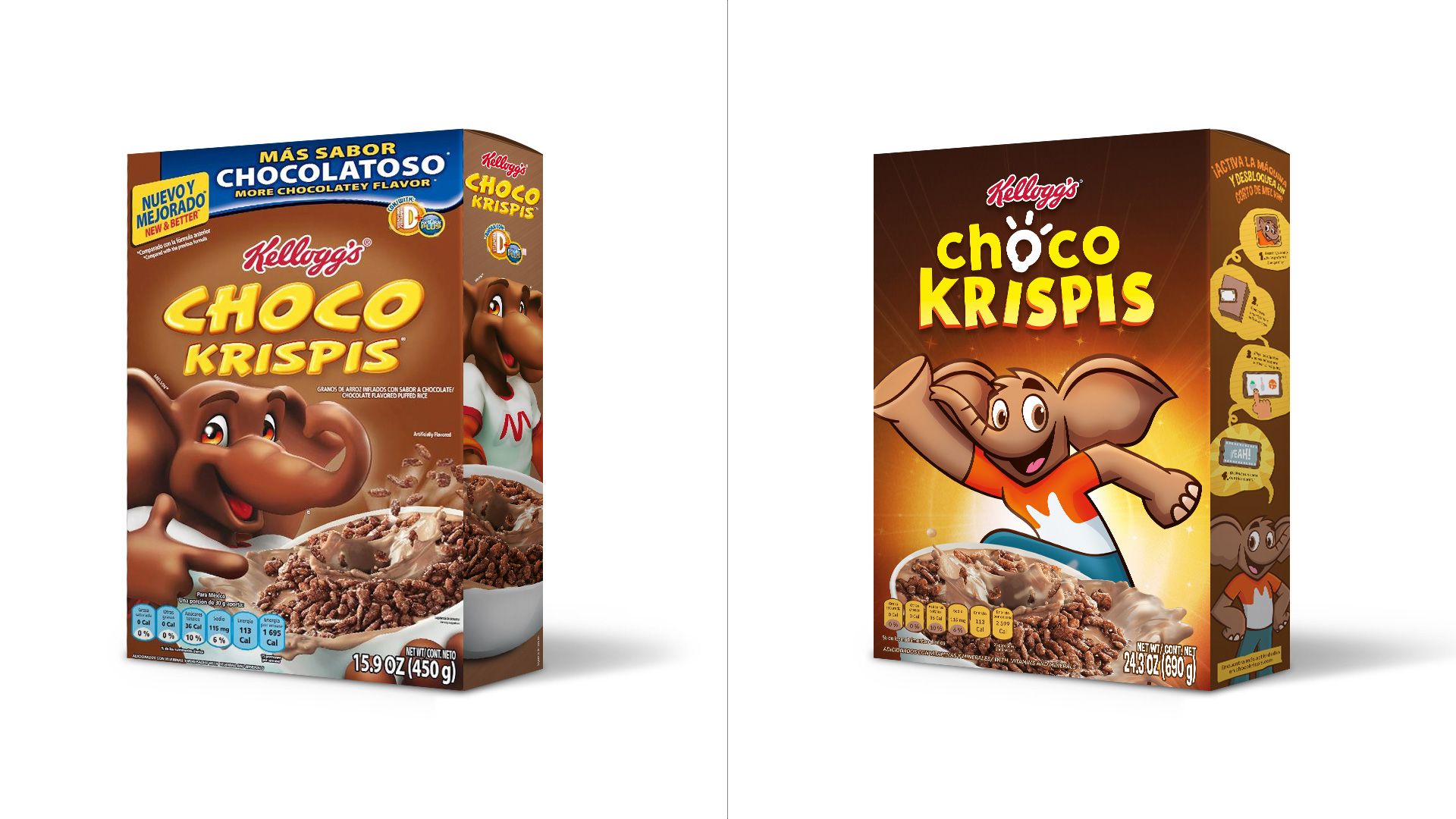 New Logo and Packaging for Choco Krispis by Interbrand