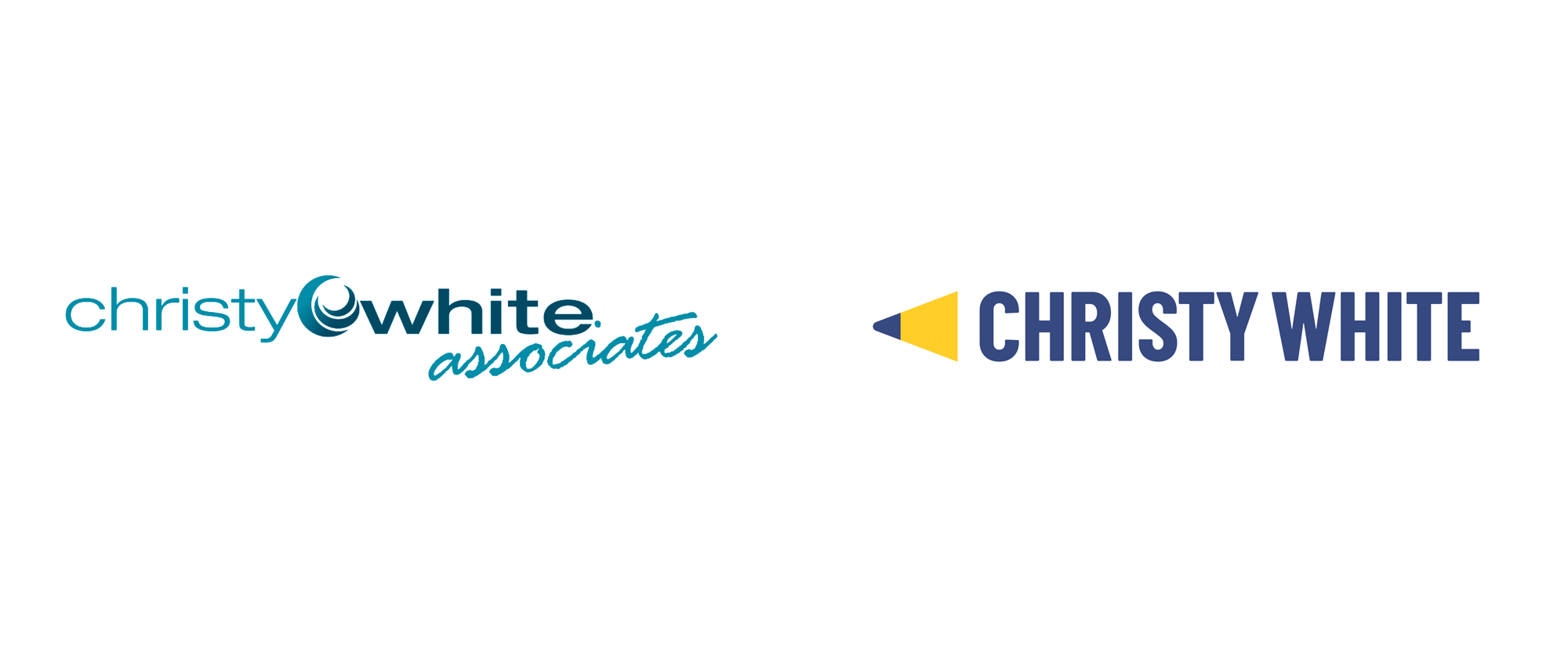 New Logo for Christy White Associates by MiresBall