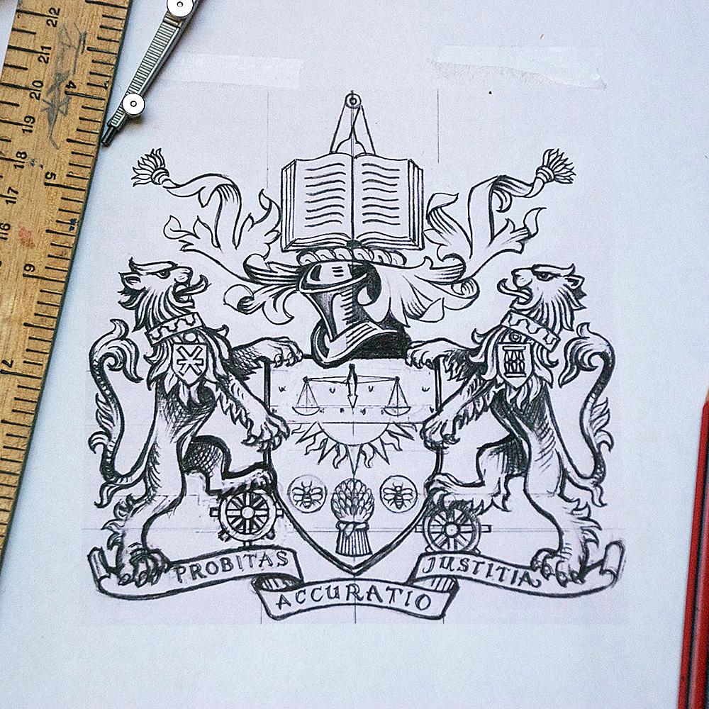 New Heraldic Achievement for CIMA by SomeOne