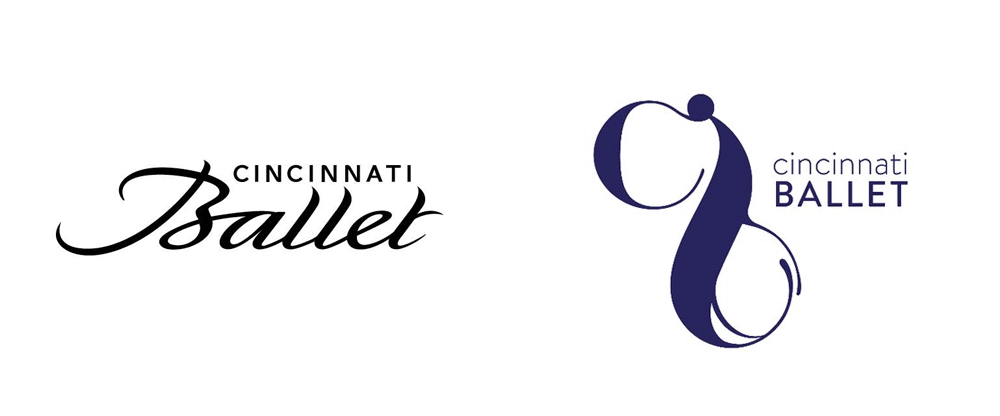 New Logo for Cincinnati Ballet by LPK