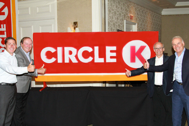 Find Me A Gas Station >> Brand New: New Logo and Global Brand for Circle K