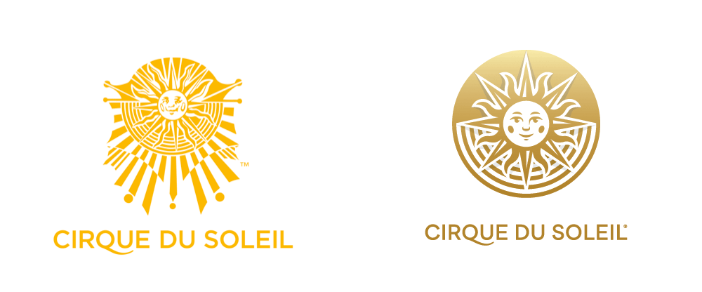 New Logo for Cirque du Soleil by Brand Union and Commissaire Officiel