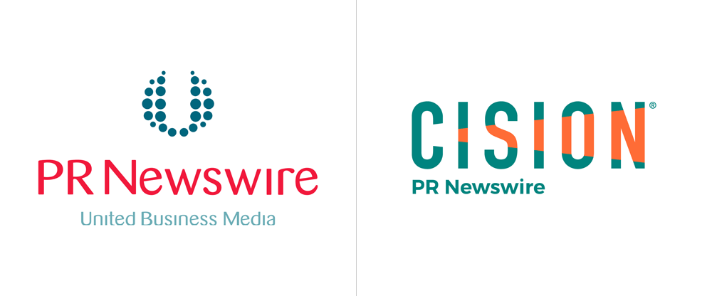 Brand New: New Logo for Cision (and PR Newswire)