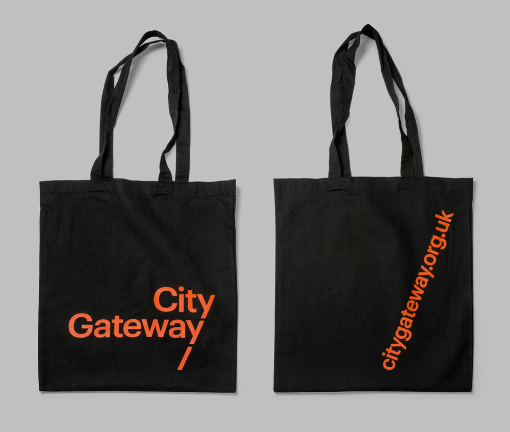 New Logo and Identity for City Gateway by Paul Belford Ltd