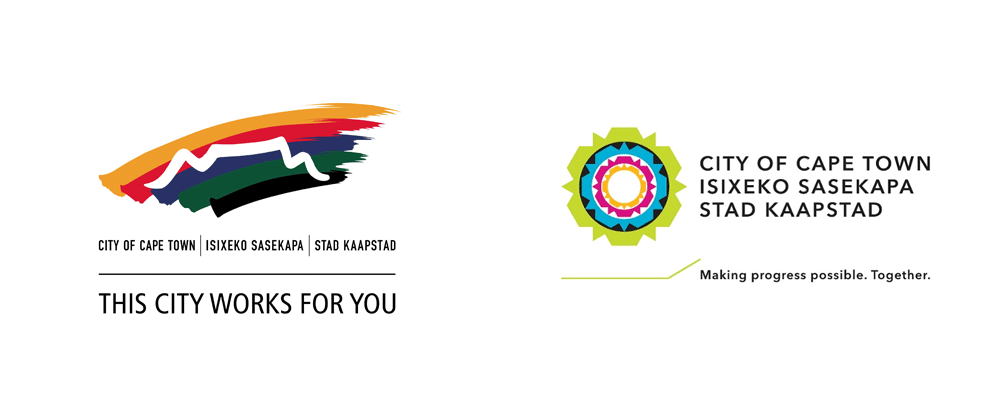 New Logo for The City of Cape Town by Yellowwood and King James