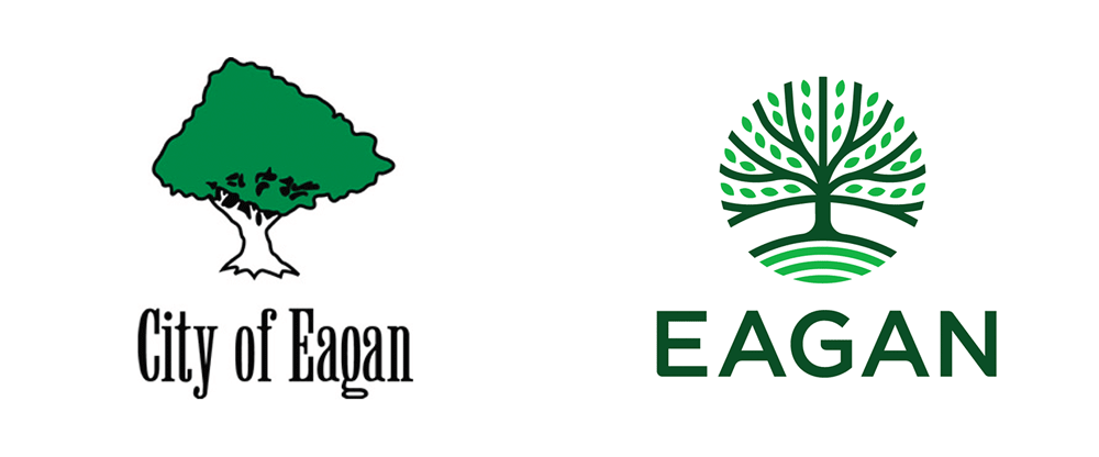 New Logo and Identity for City of Eagan by Peters Design Co
