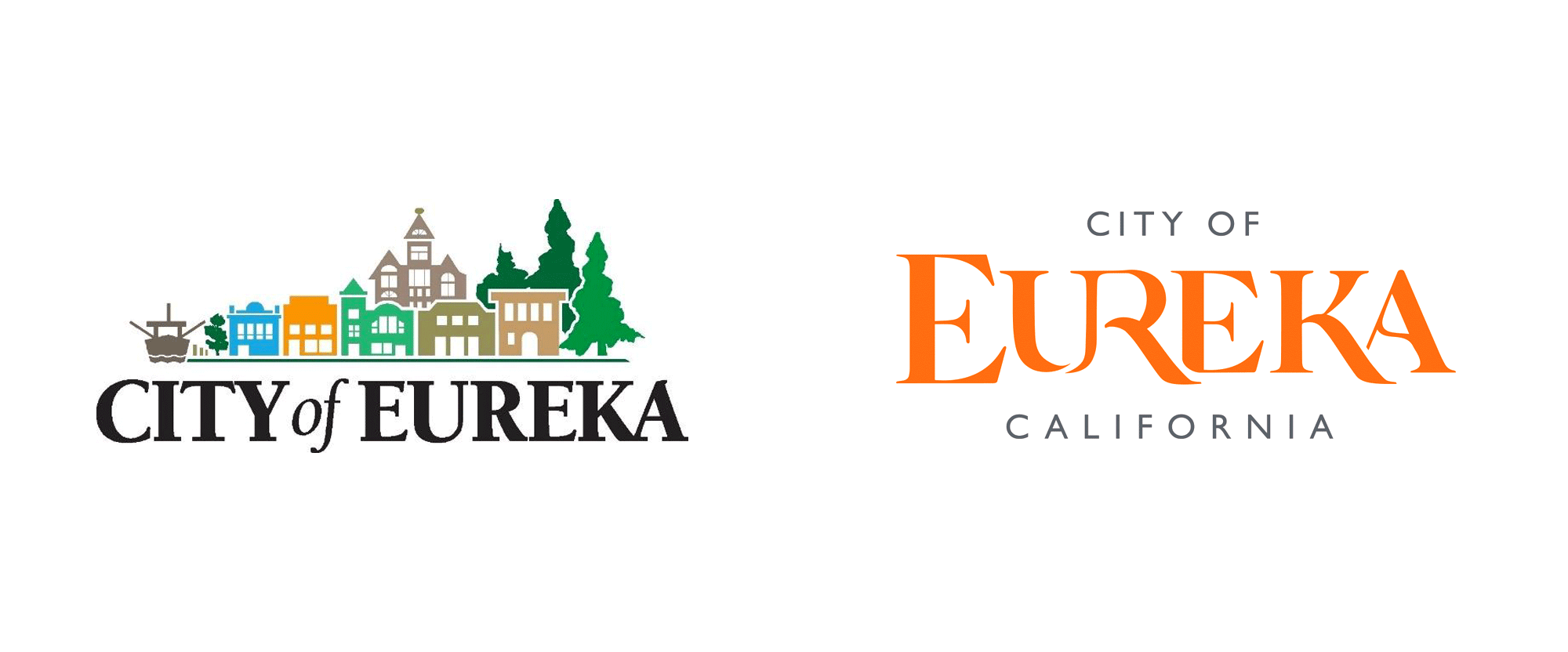 New Logo and Identity for City of Eureka by Eddy Alexander