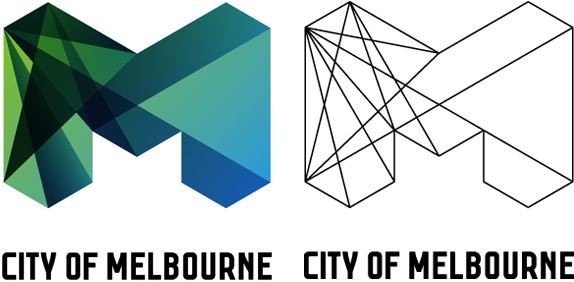 City of Melbourne Logo, Alternate Applications