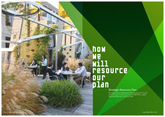 City of Melbourne, Council Plan 2009 – 2013