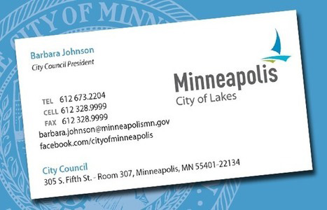 New Logo for City of Minneapolis done In-house