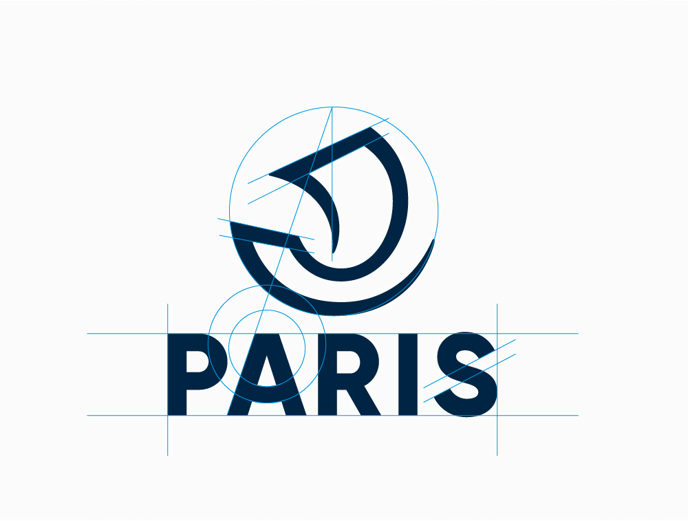 New Logo and Identity for City of Paris by Carré Noir