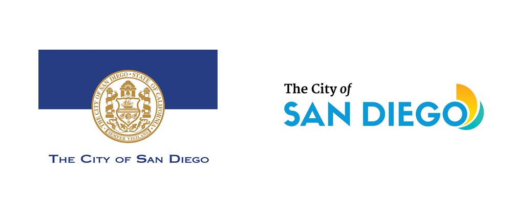 New Logo for The City of San Diego by Elevator