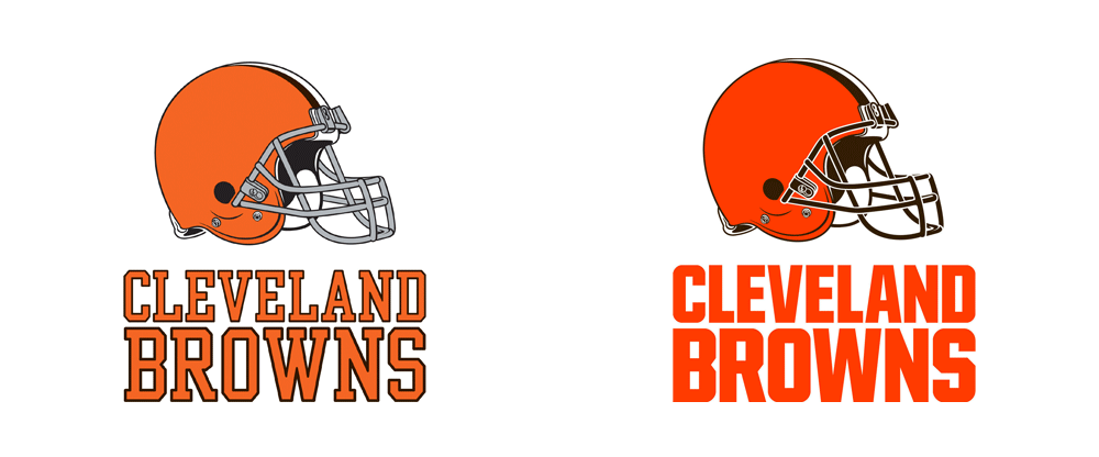 pretty nice de3a6 562de Brand New: New Logos for the Cleveland Browns