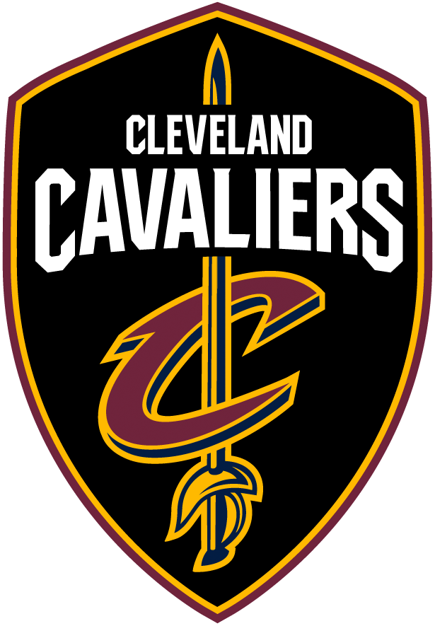 Brand New New Logos For Cleveland Cavaliers By Nike