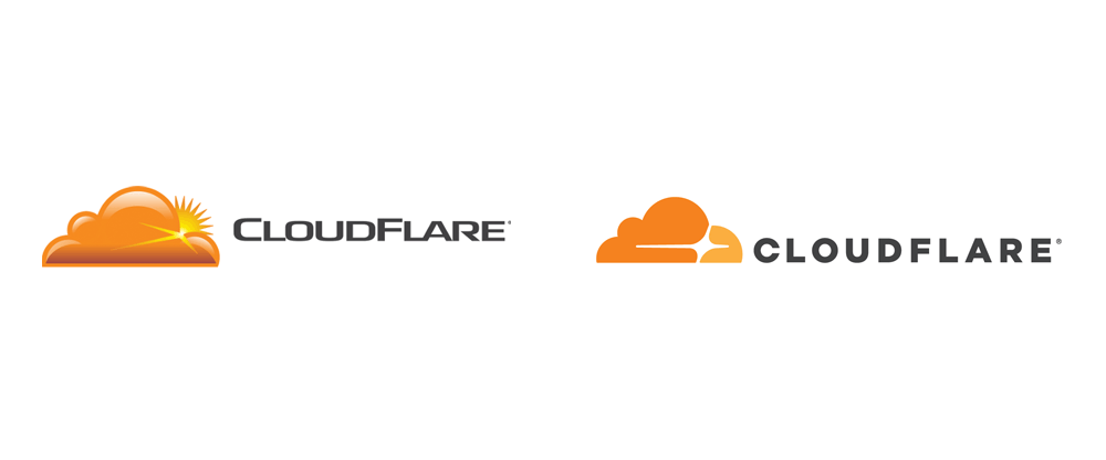 New Logo for Cloudflare