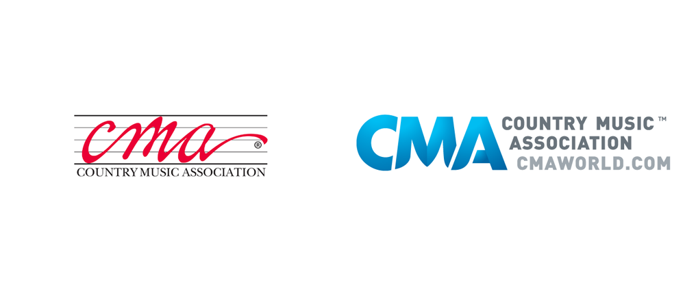 Brand New: New Logo for Country Music Association