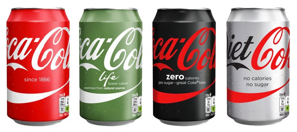 Brand New: New Packaging for Coca-Cola in Spain