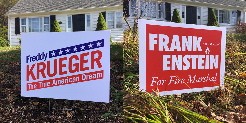 Scary Candidate Signs