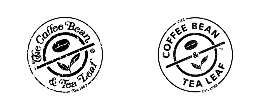 New Logo for The Coffee Bean & Tea Leaf