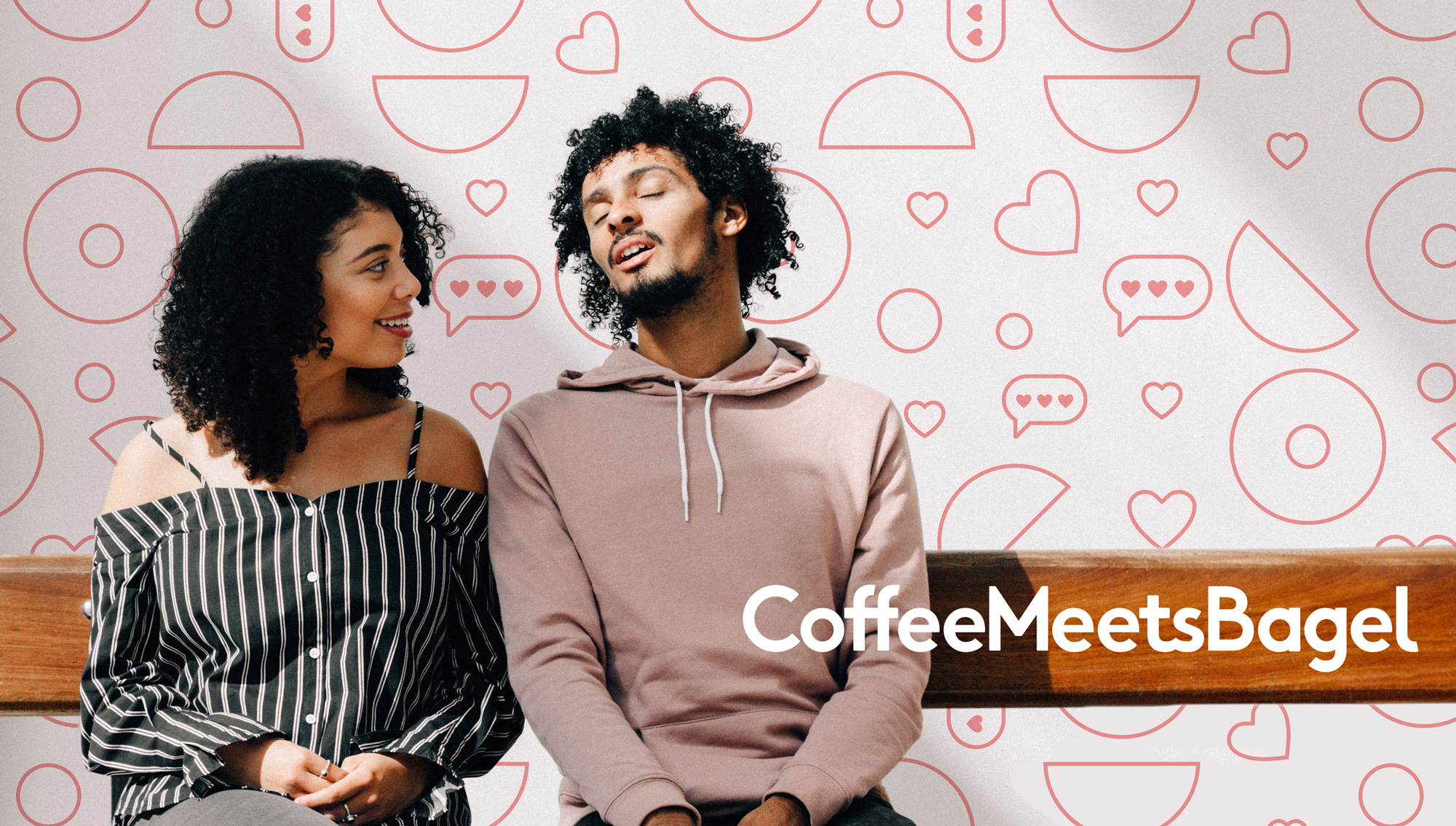 New Logo and Identity for Coffee Meets Bagel by Lobster Phone