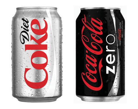 Diet Coke and Coca-Cola Zero Cans