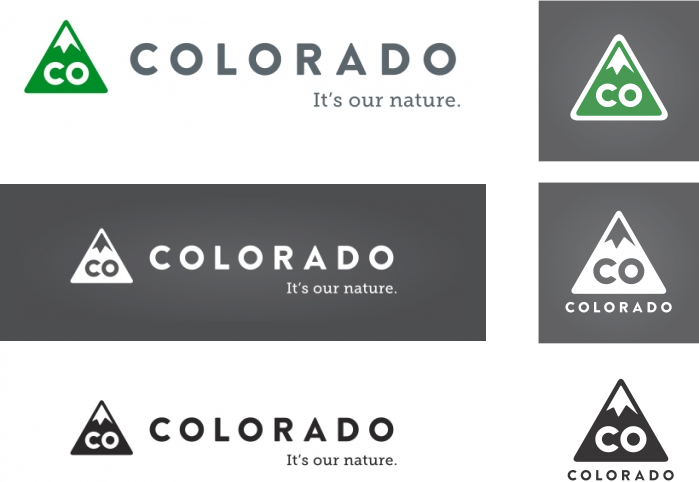 New Logo for the State of Colorado by Evan Hecox