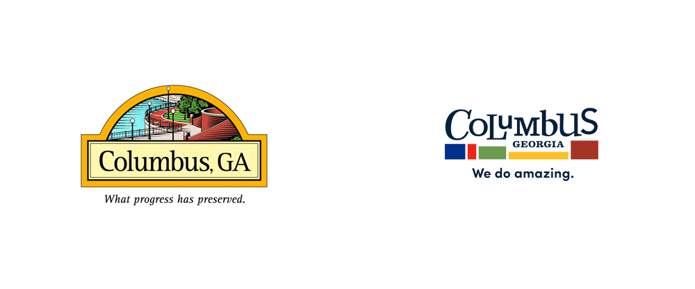 New Logo for Columbus, GA